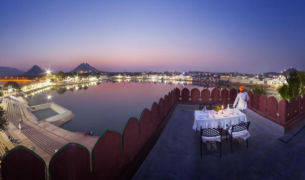 Hotel Pushkar desde la terraza