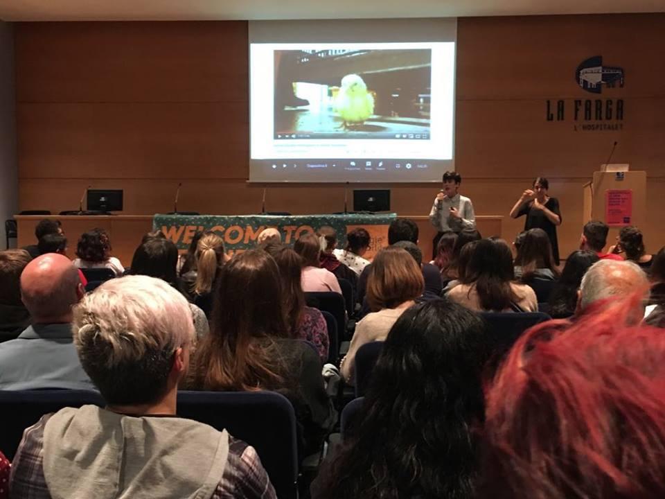 conferencia  vegana