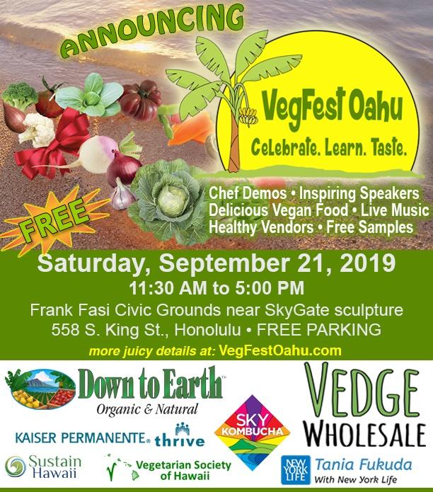 Festival vegano Hawai
