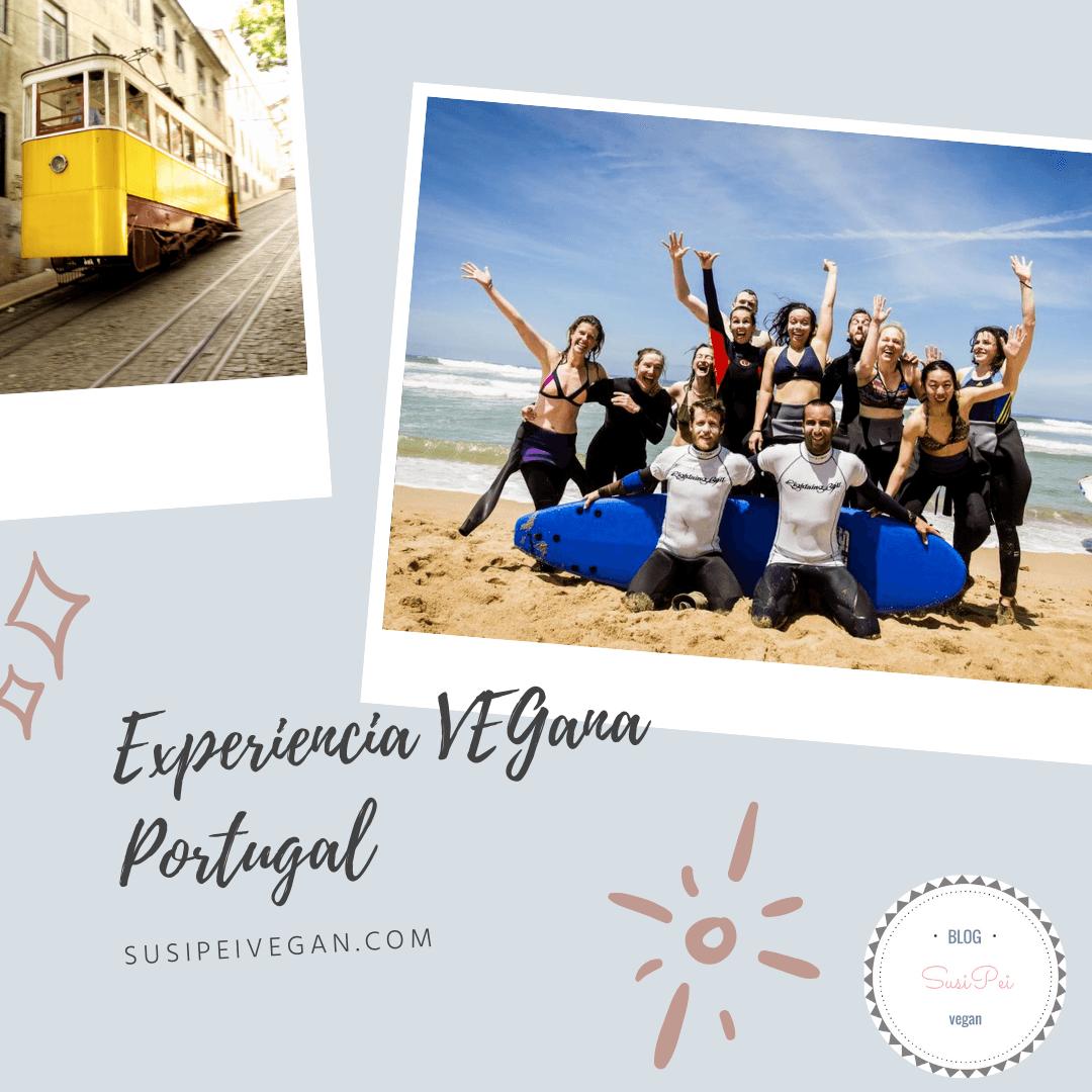 viaje vegano portugal