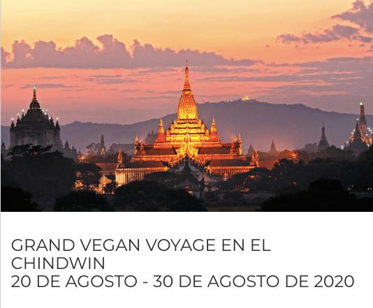 Crucero vegano Chindwin