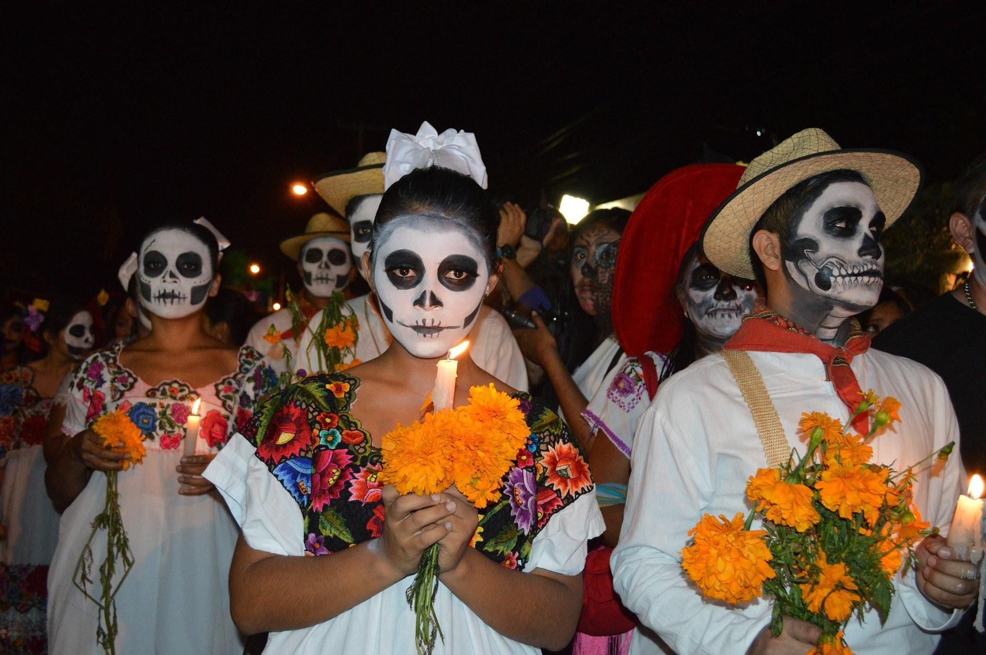 Noche de muertos en Yucatán