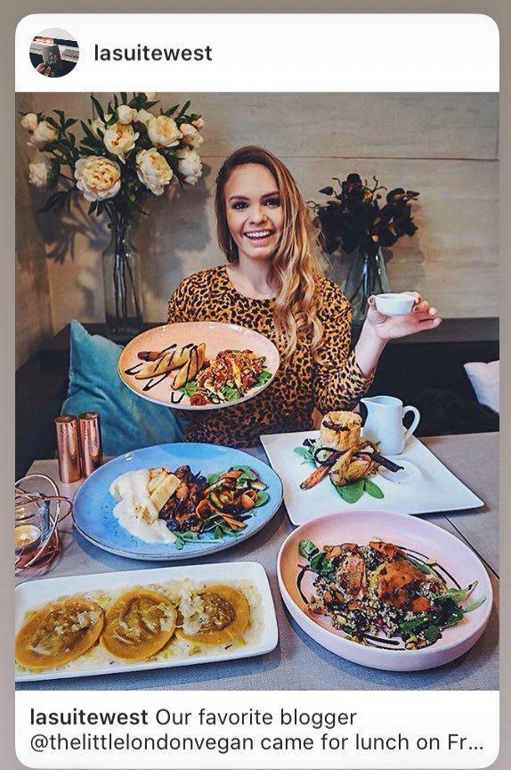 instagramer vegana