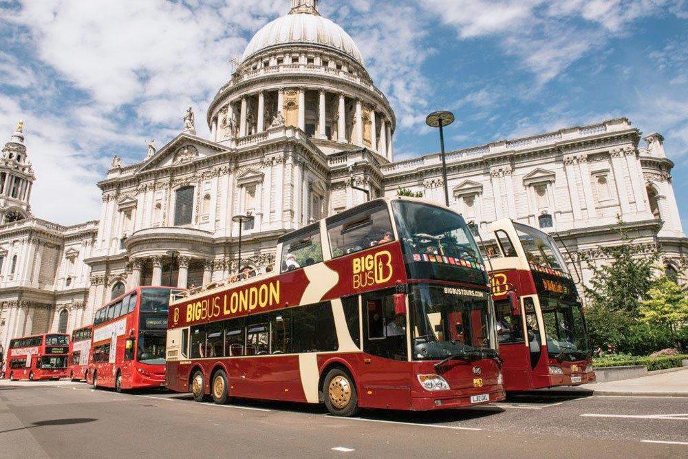 bus turístico londres