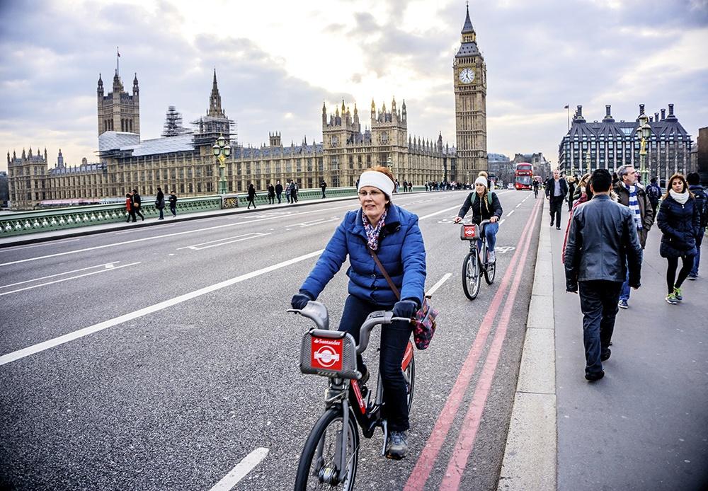 tour en bici por londres