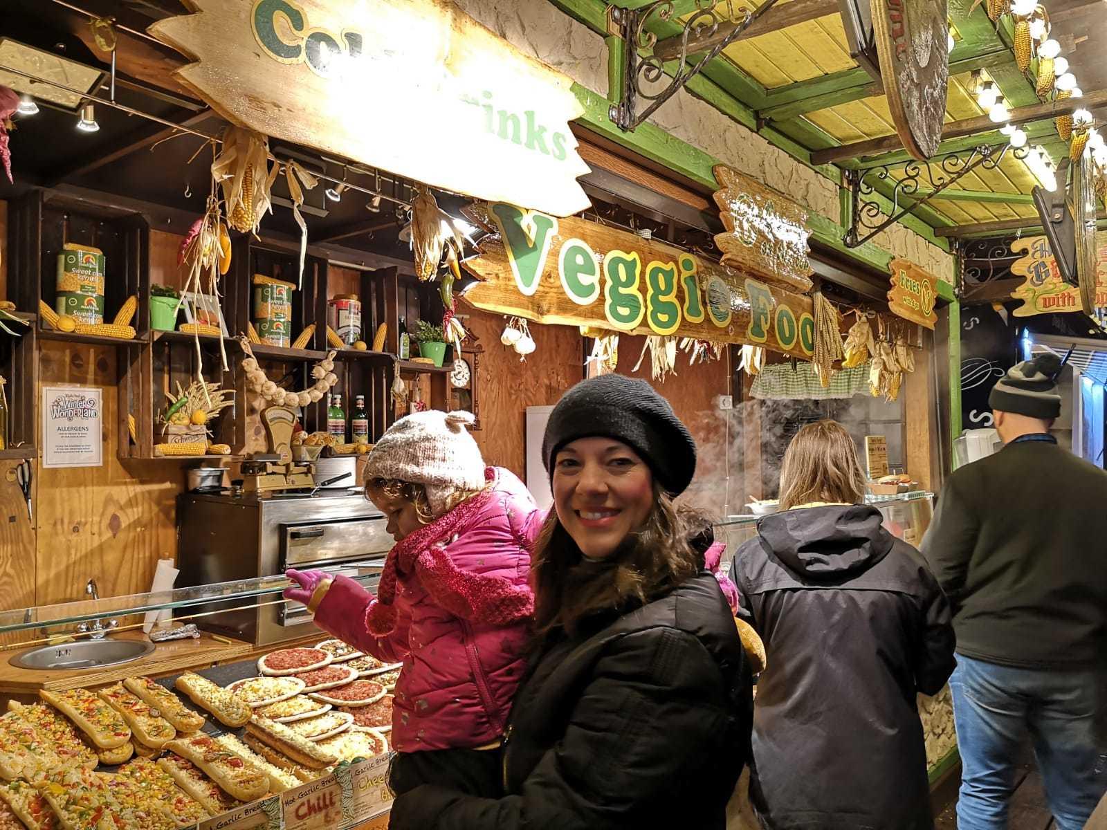 comida vegana en worderland