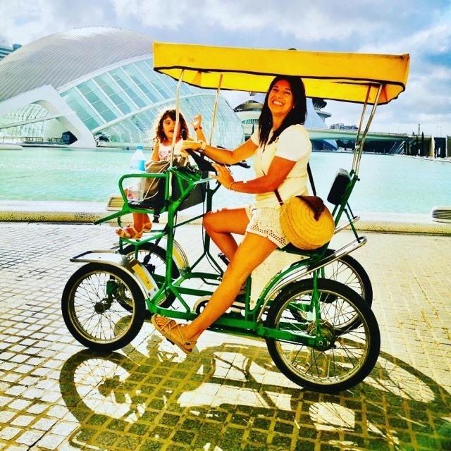 Alquilar bici en ciudad de las artes y las ciencias