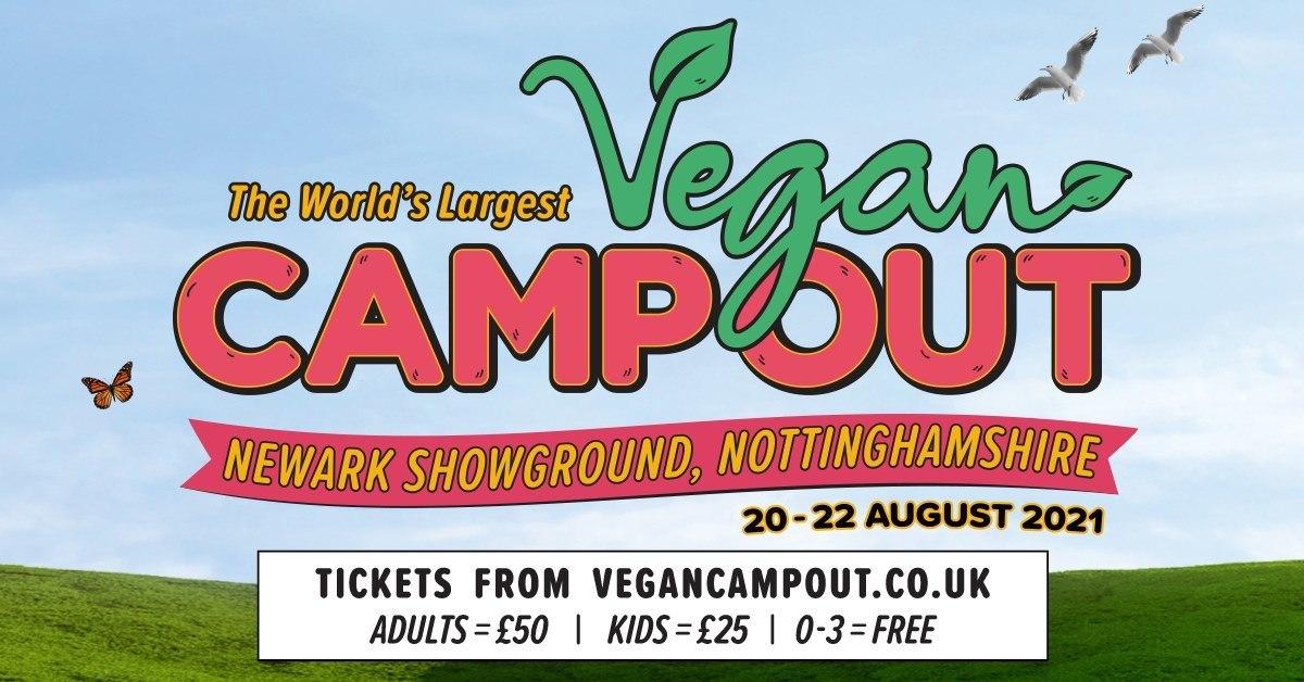 campamento vegano nottingham