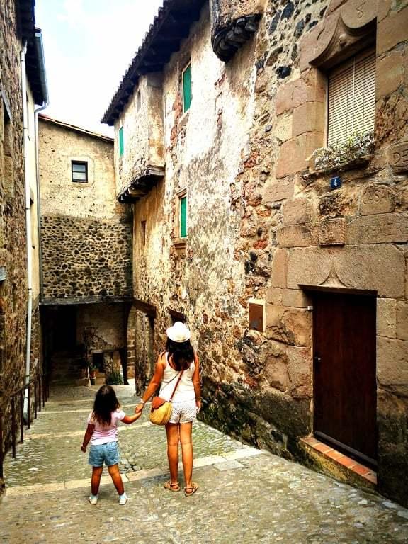 Paseando por Santa Pau