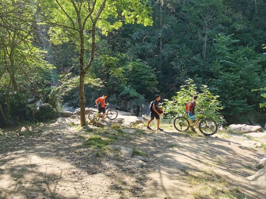 Ruta bici La Garrotxa