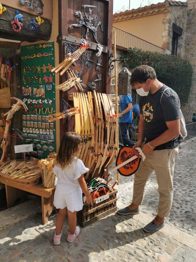 Tiendas de artesanía en Besalú