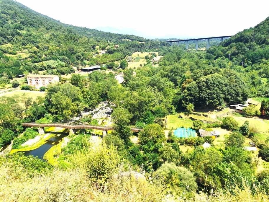 Vistas desde mirador de Castellfollit