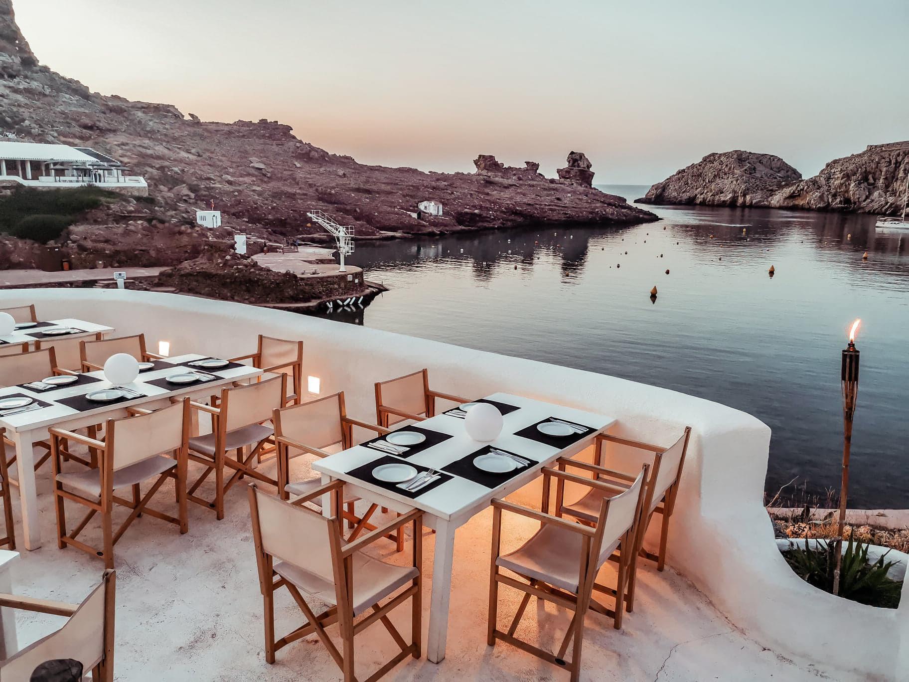 Ivette Beach club Menorca