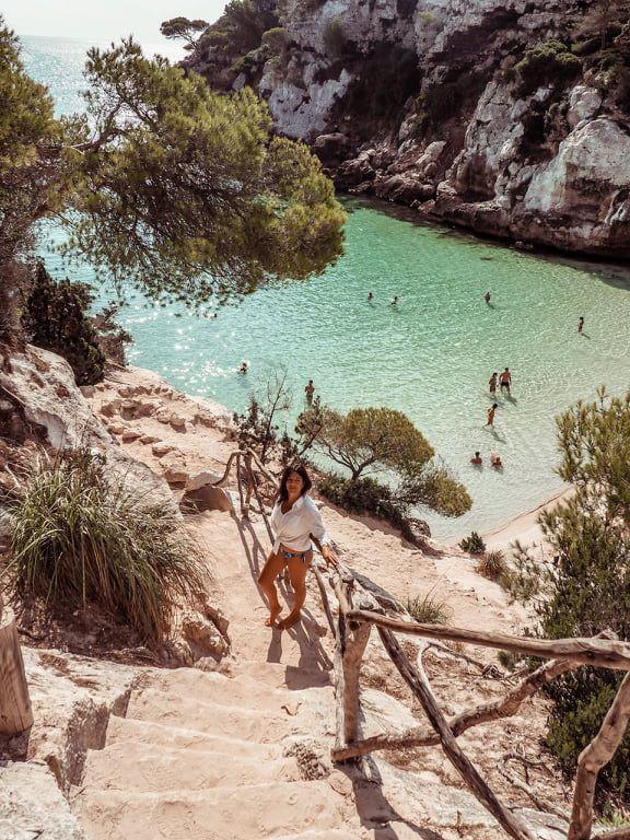 La mejor cala de Menorca