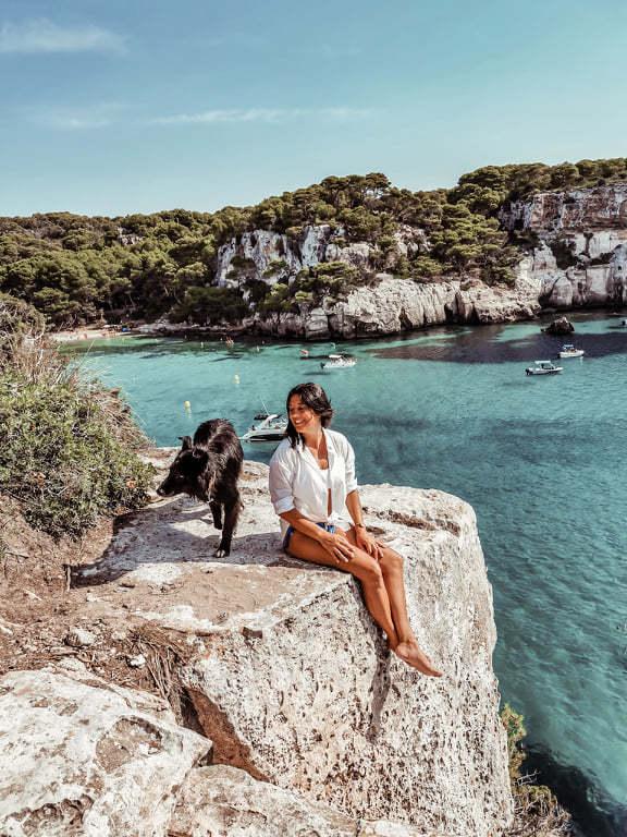 Menorca con perro