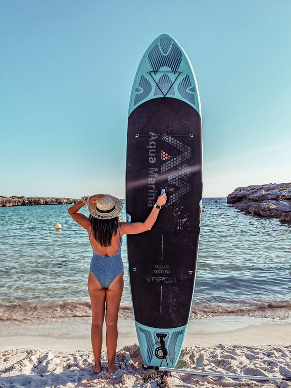 stand up paddle menorca
