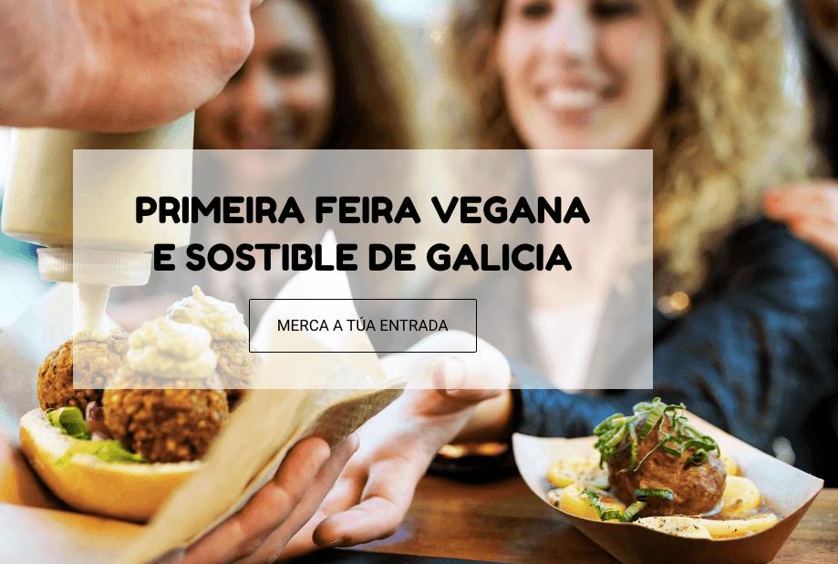 Feria vegana de Galicia en Vigo
